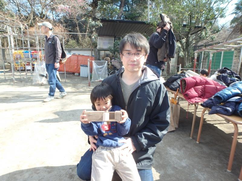 2015年度2月ひばり組父親参加