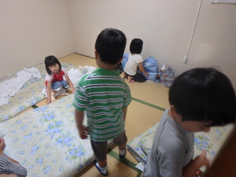 2015年度ひばり宿泊保育