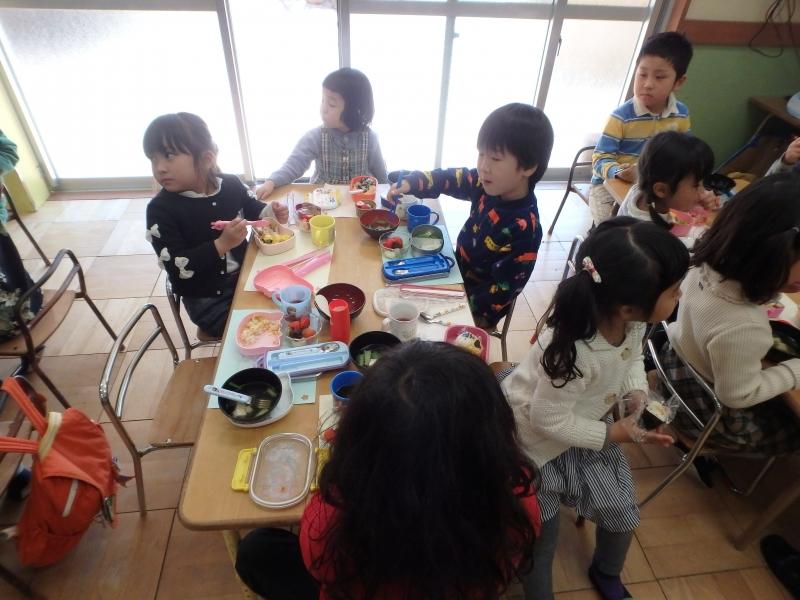 2015年度ひな祭り会食